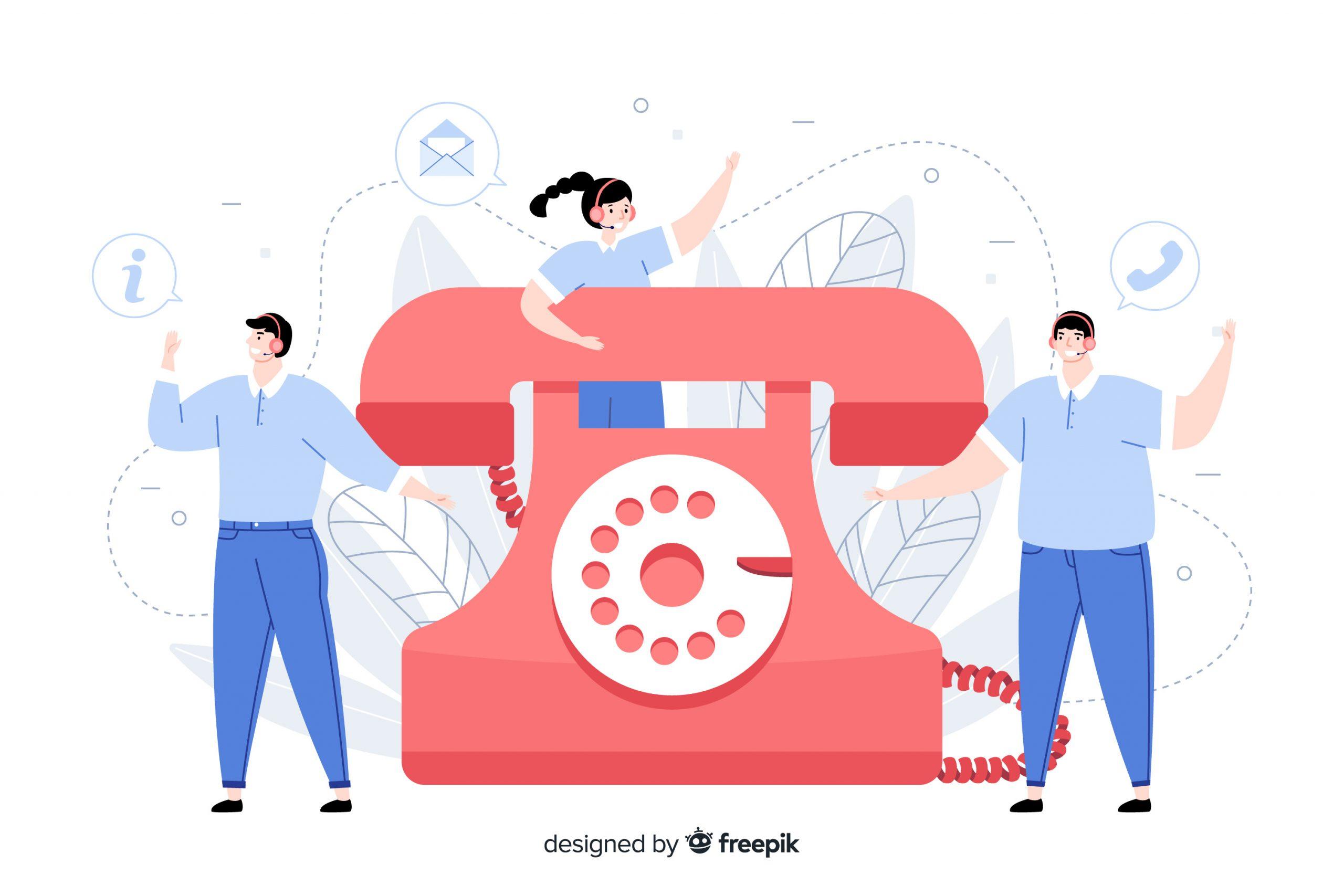 דוגמאות לקריינות מקצועית לטלפון